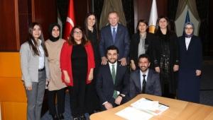 Cumhurbaşkanı Erdoğan'dan Çalıştaya Destek