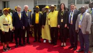 Karaaslan Türkiye'yi Temsilen Uganda'da Temaslarda Bulundu