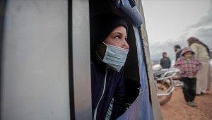 salgınında Suriye'deki kamplarda yaşayan sivillerin durumu endişe yaratıyor