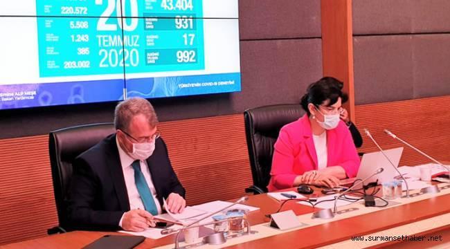 Sağlık Bakanlığı Mecliste Pandemi Bilgilendirmesi Yaptı