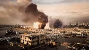 Lübnan'daki Patlamada korkunç bilanço
