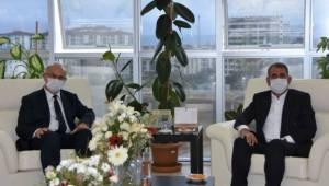 Milletvekili Fuat Kötaş OMÜ Rektörü Yavuz Ünal'ı Ziyaret Etti