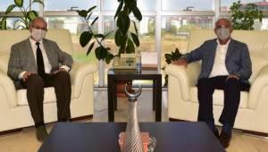 Samsun Milletvekili Yılmaz'dan Rektör Ünal'a Ziyaret