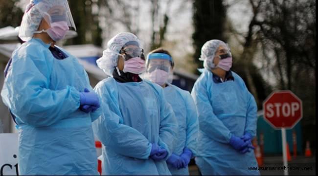 Koronavirüs ABD'de Son 24 Saatte 1086 Can Aldı
