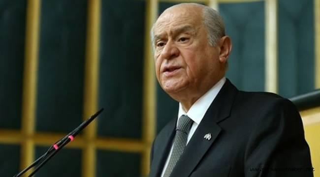 MHP Lideri Devlet Bahçeli: Türk Tabipler Birliği derhal kapatılmalıdır