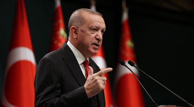 Cumhurbaşkanı Erdoğan Yeni Kısıtlamaları Açıkladı.