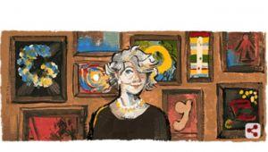 Aliye Berger kimdir? Sanatçı Aliye Berger Google'da doodle oldu! İşte Aliye Berger'nin hayatıyla ilgili bilgiler