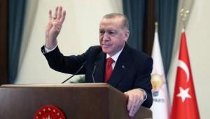 """Cumhurbaşkanı Erdoğan: """"Büyük ve güçlü Türkiye'nin inşasını sürdürüyoruz"""""""