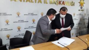 Birlik Haber-Sen'den AK Parti İl Başkanı Ethem Taş'a Ziyaret