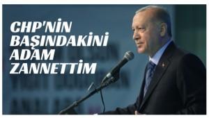 Cumhurbaşkanı Erdoğan; ''Kılıçdaroğlu CHP 'nin Başında Proje Olarak Bulunmaktadır.''