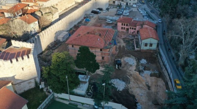 Mevlevihane'nin son yapısında kazı bitti, imalat başladı