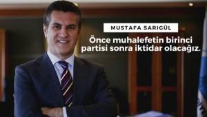 Mustafa Sarıgül: Halk değişim istiyor