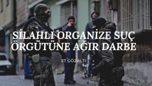 Samsun'da Silahlı Organize Suç Örgütlerine Ağır Darbe