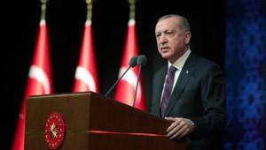 Cumhurbaşkanı Erdoğan; ''Adalet davamızın pusulası insandır.''