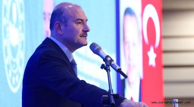 İçişleri Bakanı Süleyman Soylu; ''FETÖ, PKK'nın Üst Aklıdır.''