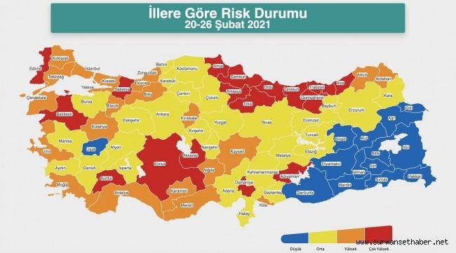 Sağlık Bakanı Fahrettin Koca haritayla uyardı