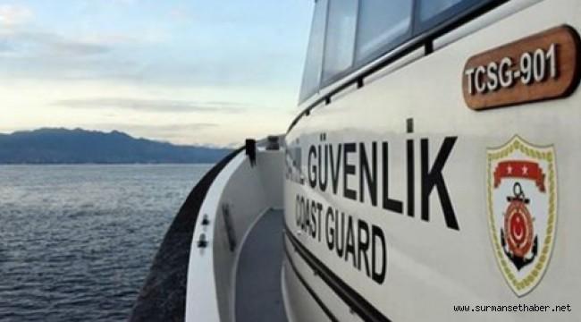 Yunanistan'ın Geri İttiği Sığınmacıları Sahil Güvenlik Kurtardı