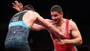 Avrupa Güreş Şampiyonası'nda Gururumuz Taha Akgül