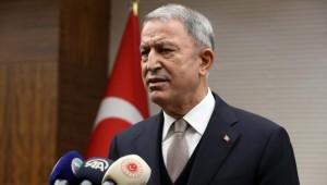 Bakan Hulusi Akar: Türk Silahlı Kuvvetleri milletinin emrinde, görevinin başındadır