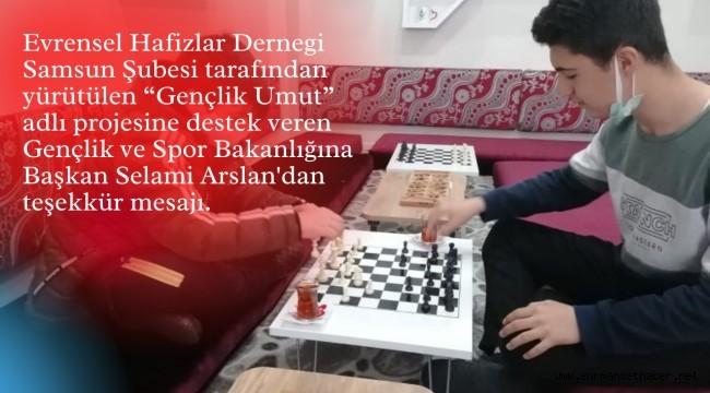Başkan Selami Arslan'dan Gençlik ve Spor Bakanlığına Teşekkür Mesajı