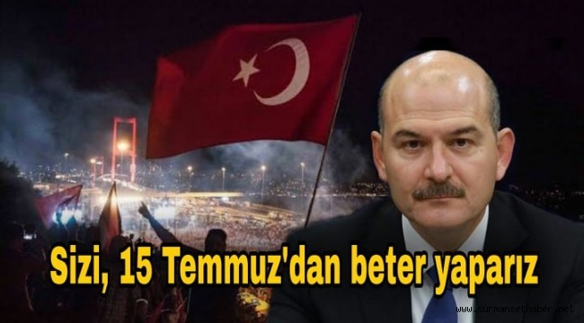Haddini Aşan Engin Altay'a Süleyman SOYLU Haddini Bildirdi