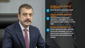 Merkez Bankası Başkanı Kavcıoğlu: Sıkı para politikası sürecek, Türkiye'de rezervler kalıcı hale gelecek