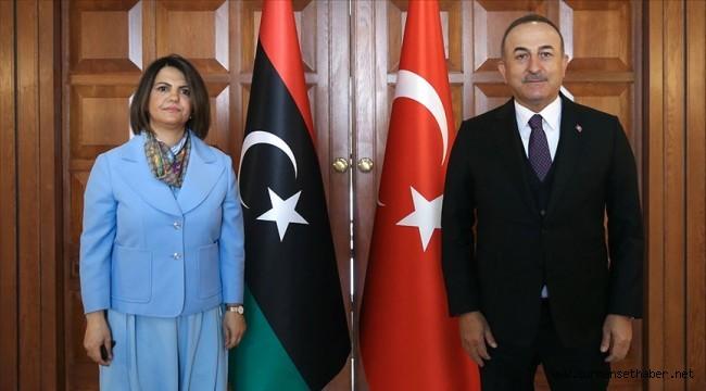 Bakan Çavuşoğlu: Libya'nın bütünlüğü, egemenliği, bağımsızlığı ve siyasi birliğinin muhafazasına önem veriyoruz