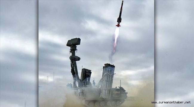 HİSAR-A füzesi, Aksaray'da yapılan atışta hedef uçağı başarıyla vurdu