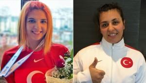 Özel sporcular Esra Bayrak ve Mihriban Korkmaz'dan tarihi başarı