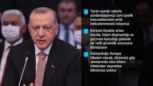Cumhurbaşkanı Erdoğan: Türkiye'nin tam üye olarak yer almadığı bir AB'nin çekim ve güç merkezi olması mümkün değildir