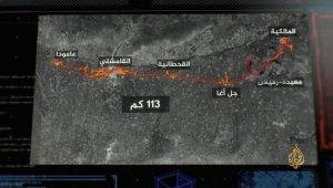 YPG/PKK'lı hainlerin Türkiye sınırı hattında 113 kilometre tüneller kazdığı ortaya çıktı