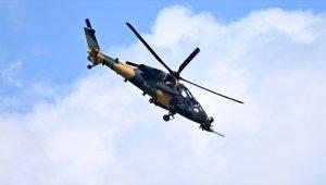 PKK'lı 5 terörist ATAK helikopterleri tarafından inlerinde etkisiz hale getirildi
