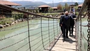 Bakan Varank, Ladik Ambarköy Açık Hava Müzesine hayran kaldı