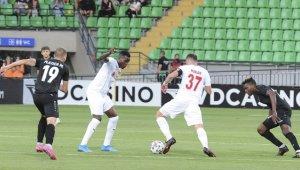 Sivasspor, UEFA Avrupa Konferans Ligi maçında Petrocub'u yendi