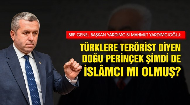 Türklere Terörist Diyen Doğu Perinçek Şimdi de İslâmcı mı Olmuş?