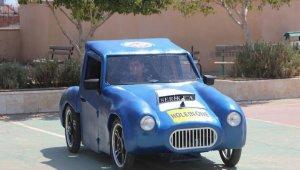 Antalya'da öğrencilerin tasarladığı elektrikli araç TEKNOFEST'te yarışacak