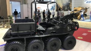 Güvenlik güçleri Algan 8x8 ile her koşulda ilerleyecek