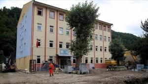 Bozkurt'ta okullar eğitim öğretime hazırlanıyor