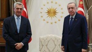 Cumhurbaşkanı Erdoğan BM Mülteciler Yüksek Komiseri Grandi'yi kabul etti