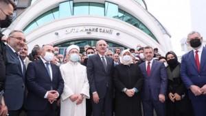 Çifte Minare Camii İbadete Açıldı