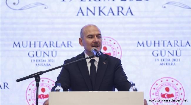 İçişleri Bakanı Soylu; ''100'ünüz gelse Türkiye'ye zerre toz konduramazsınız''